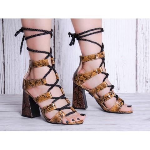 Sandały damskie 2203G077 (36 - 41, 12)