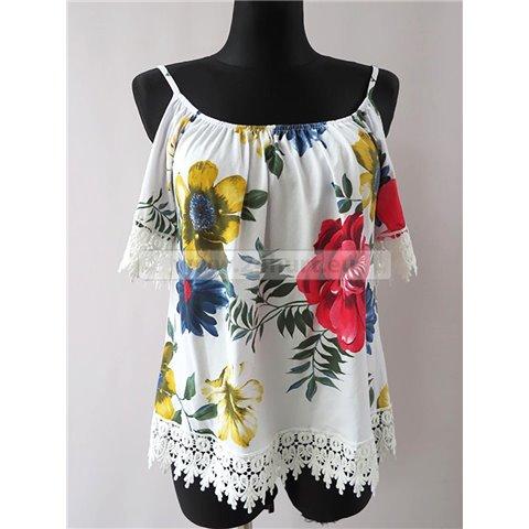 Bluzka damska na ramiączkach. Made in Italy 2905K022 (Standard, 6)