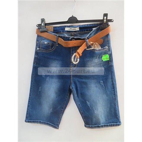 Spodenki jeans damskie 3005K080 (30-42, 10)
