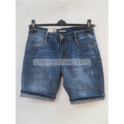 Spodenki jeans damskie 3005K084 (30-38, 10)