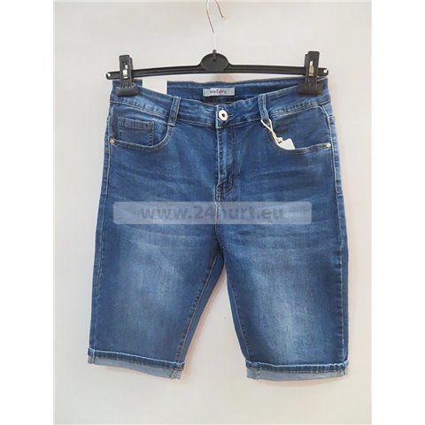 Spodenki jeans damskie 3005K085 (30-42, 12)