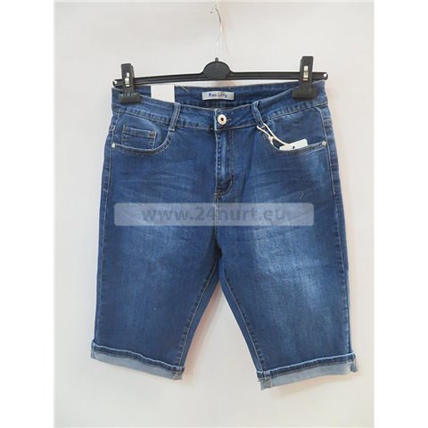 Spodenki jeans damskie 3005K088 (30-40, 10)