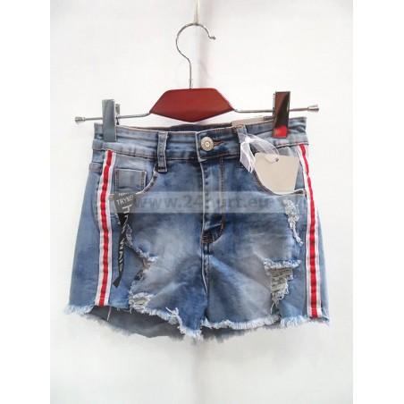 Szorty jeans damskie 1006A106 (34-42, 10)