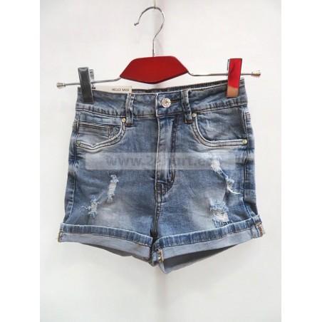 Szorty jeans damskie 1006A109 (34-42, 10)