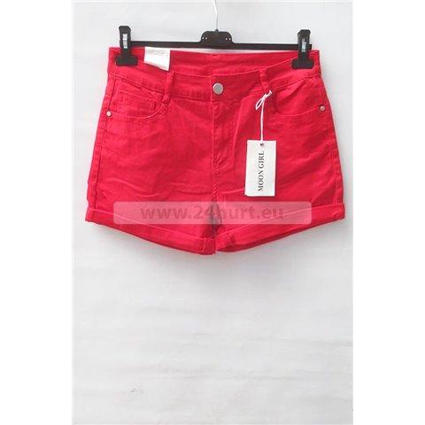 Szorty jeans damskie 1506K049 (30-38, 12)