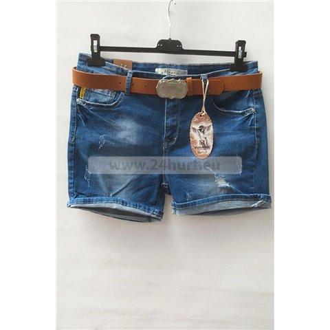 Szorty jeans damskie 1506K052 (30-42, 12)