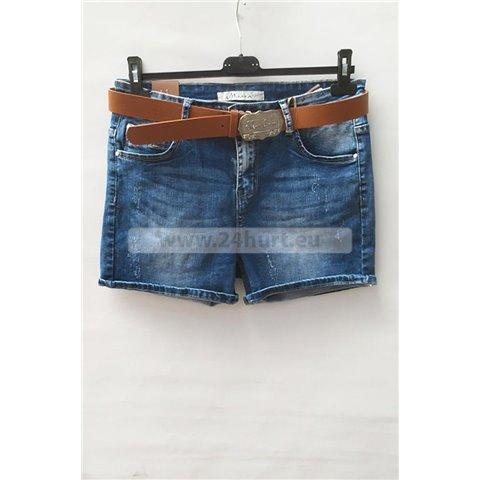 Szorty jeans damskie 1506K053 (29-38, 12)