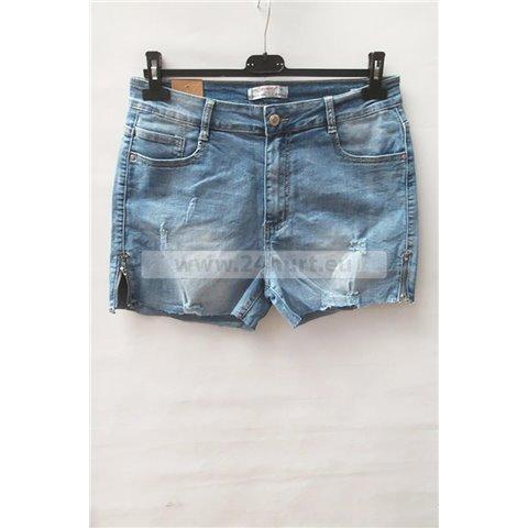 Szorty jeans damskie 1506K055 (30-38, 10)