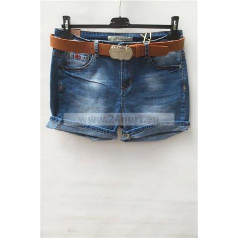 Szorty jeans damskie 1506K057 (30-42, 12)
