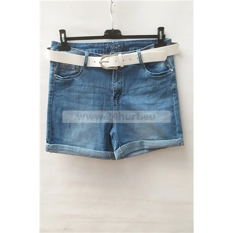 Szorty jeans damskie 1506K058 (30-42, 12)