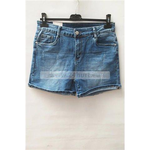Szorty jeans damskie 1506K061 (30-38, 12)