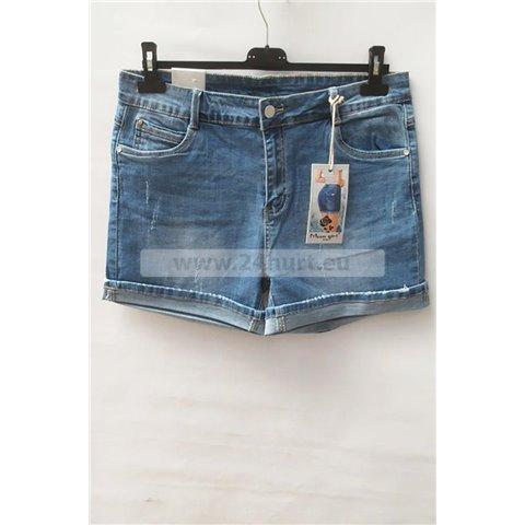 Szorty jeans damskie 1506K062 (30-42, 12)