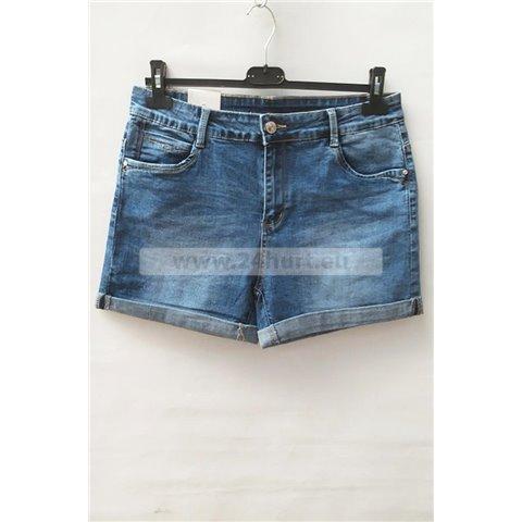 Szorty jeans damskie 1506K063 (30-38, 12)