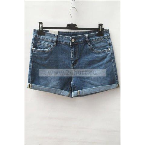 Szorty jeans damskie 1506K064 (30-38, 12)