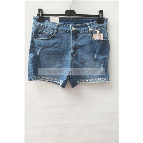 Szorty jeans damskie 1506K065 (30-38, 12)