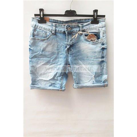 Spodenki jeans damskie 1506K067 (26-32, 12)