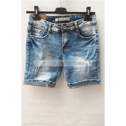Spodenki jeans damskie 1506K068 (26-32, 12)