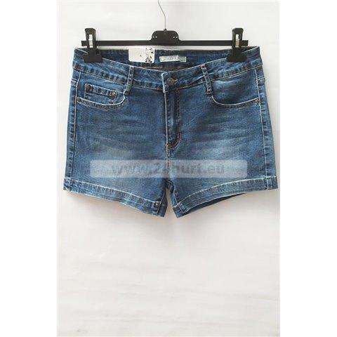 Szorty jeans damskie 1506K069 (30-38, 12)