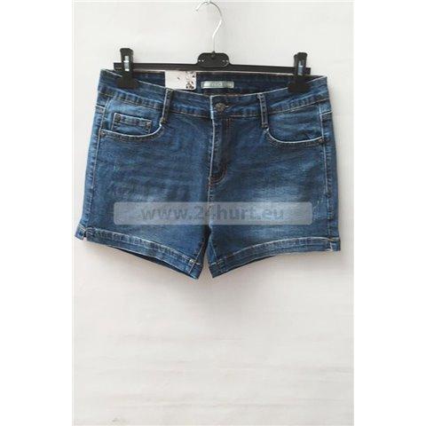 Szorty jeans damskie 1506K070 (30-38, 12)