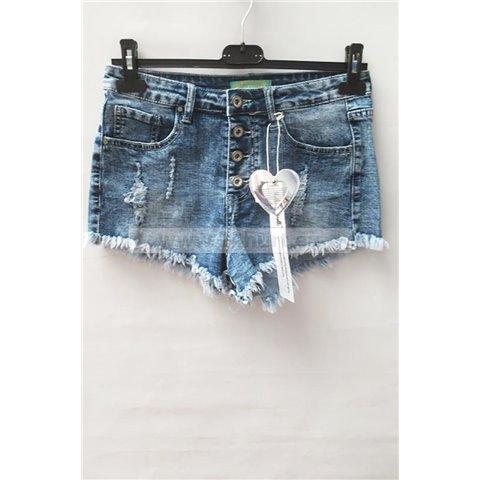 Szorty jeans damskie 1506K072 (25-30, 10)