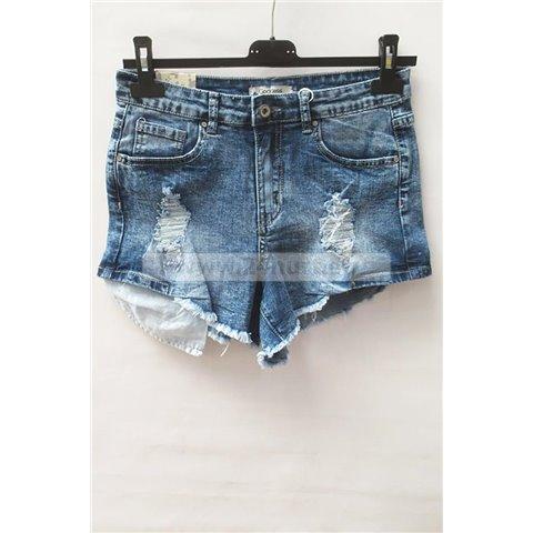 Szorty jeans damskie 1506K073 (25-30, 10)