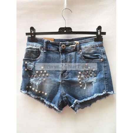 Szorty jeans damskie 2406A003 (XS - XL, 5)
