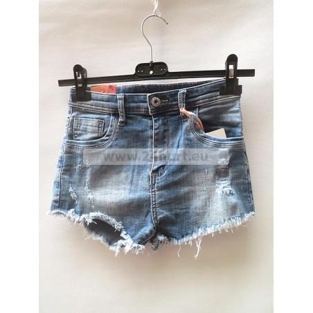 Szorty jeans damskie 2406A007 (XS - XL, 10)