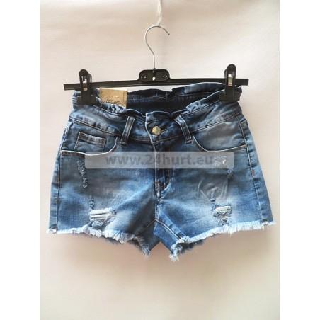 Szorty jeans damskie 2406A009 (25-30, 12)