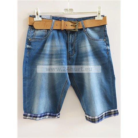 Spodenki jeans męskie 2706K001 (30-38, 12)