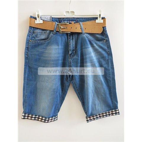 Spodenki jeans męskie 2706K003 (30-42, 12)