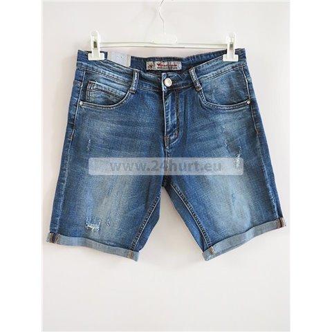 Spodenki jeans męskie 2706K010 (30-38, 12)