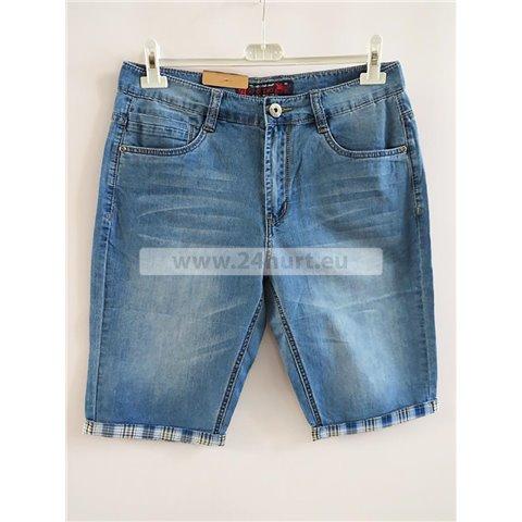 Spodenki jeans męskie 2706K011 (31-44, 12)