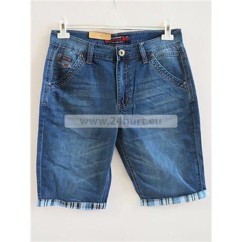 Spodenki jeans męskie 2706K014 (32-42, 12)