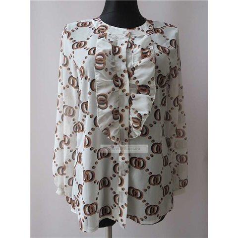 Koszula damska. Made in Italy 0711K119 (Standard, 6)